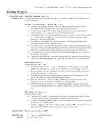 Cover Letter Sample Resume Program Manager Microsoft Program