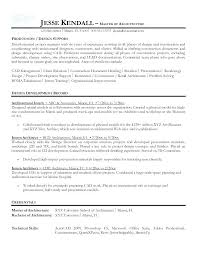 Architectural Designer Resumes Architectural Designer Resume Carvis Co