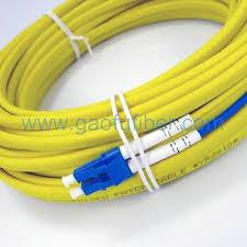 lc lc fiber optic ruggedised patch cord