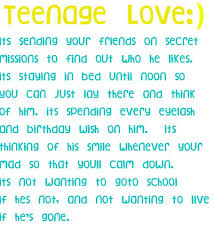 Teen Love Quotes Custom Cute Teenage Love Quotes Quotes About Love