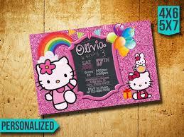 Hello Kitty Party Invitation Hello Kitty Invitation Hello Kitty Birthday Invitation Hello Kitty Party Hello Kitty Birthday Hello Kitty Invite Hello Kitty Sl