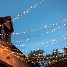 Browse outdoor fairy lights from Hang high overhead or wrap in trees, our  lights come in small and long lengths.