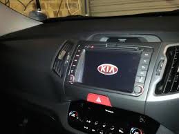 after market navi radio dvd bt kia forum i pod works through touch screen head unit or steering wheel controls dvd is very clear blue tooth is a1 and is also capable of streaming music