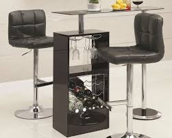 small bar furniture. skokie small modern bar table with glass top coaster furniture for innovative and e