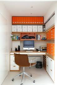 home office storage boxes. Outstanding Contemporary Home Office With Built In Corner Desk Also Narrow Space Plus Organisation Storage Boxes