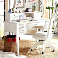 full image for wood computer writing desk with drawers and hutch white white wooden desk with