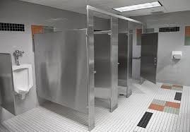 Stainless Steel Bathroom Partitions Decoration