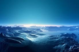 Moon Clouds Landscapes Mountains Ocean Hd Wallpaper Desktop