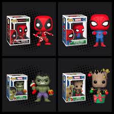 Spiderman Christmas Lights Funko Pop Marvel Christmas Dancing Groot With Christmas