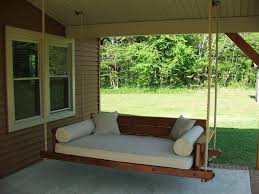 swing outdoor bed cushions diy