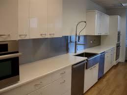... Matte Stainless Steel Backsplash Thermoplastic Backsplash: Appealing Stainless  Steel Kitchen Backsplash Panels ...