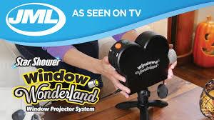 As Seen On Tv Window Wonderland Christmas Decoration Light Projector Star Shower Window Wonderland From Jml