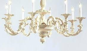 distressed white chandelier exotic wood practical parisian