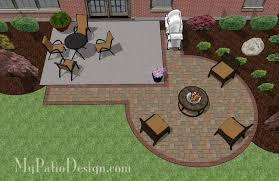 diy circle patio addition design with grill pad patio designs r17 designs