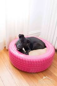 recycled furniture diy. Outdoor Cat Beds Furniture Fresh Diy Dog Bed From A Recycled Tire