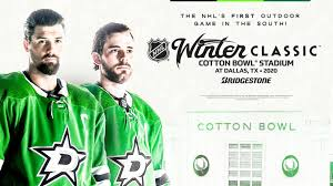 Stars To Host 2020 Bridgestone Nhl Winter Classic At Cotton
