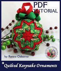 How To Make Quilted Keepsake Ornaments PDF Tutorial DIY & How To Make Quilted Keepsake Ornaments - PDF Tutorial - DIY - Instant  Download, QKT91241 Adamdwight.com