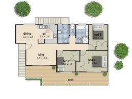 simple housing floor plans. Smart Decorations Simple 3 Bedroom House Floor Plans Full Size Housing U
