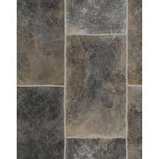 burts napa everest grey slate 594 tile effect vinyl flooring remnant 5 5m x 1 9m burts
