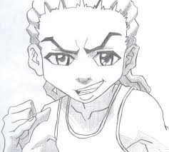 boondocks coloring the