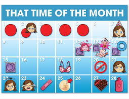 Period Cycle Chart Map Your Menstrual Cycle Day By Day Steven And Chris