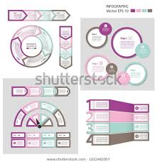 Infographics Process Chart Module Template Cycling Stock