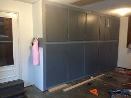 Image Floor To Ceiling Sugar Bee Crafts How To Plan Build Diy Garage Storage Cabinets
