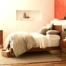 west elm bedroom furniture. Mid Century Bed West Elm Bedroom Acorn Inside Furniture Prepare Bedside Table Vintage R