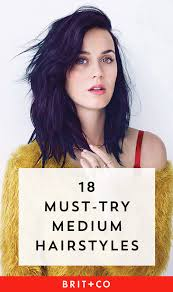 25 Medium Length Hairstyles To Try Brit Co