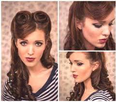 Retro účesy Retro účesy Pro Dlouhé A Střední Vlasy ženský časopis