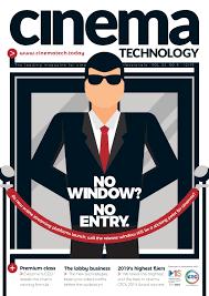 Cinema Technology December 2019 By Cinema Technology Issuu