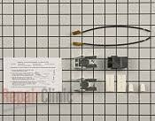 ge range stove oven parts fast shipping com element receptacle and wire kit part 12871 mfg part 5303935058