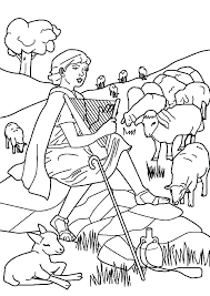 Shepherd Coloring Page Shepherd Coloring Page The Lord Is My