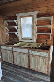 Rustic Cabin Kitchen Cabinets Salvaged Kitchen Cabinets Efficient Mikegusscom