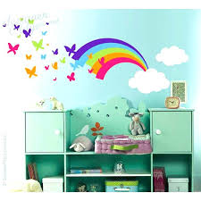 wall stickers rainbow decals unique