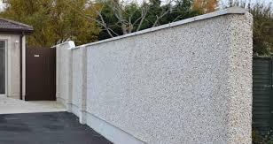 garden wall ideas dublin. dry dashing / pebble garden walls wall ideas dublin
