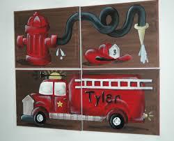 bedroom diy firetruck bed fire truck loft curtain