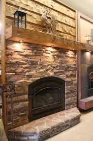 fireplace mantel lighting ideas. Fireplace Remodel Idea ~ Rustic Mantle, Stone Everywhere Else. Perfection.- Love The Lights Underneath Mantel Lighting Ideas A