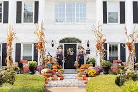 50 fall front porch decorating and