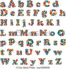 colored bubble letters bubble alphabet alphabet lower and uppercase letters made of