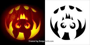 Halloween Pumpkin Bat Template Halloween Templates Free Printable