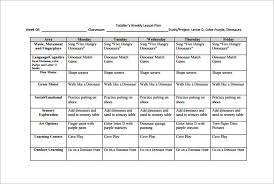 Weekly Lesson Plan Template 11 Free Pdf Word Format