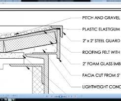Revit Case Study Farnsworth House   DesignalyzeFarnsworth House Roof Fascia