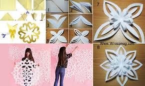 diy wall decor paper. DIY Wall Art Using Paper, Metallic Paper Or Card Sheet Diy Decor E