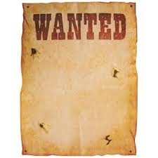 Wanted Western Diy Posters Hobby Lobby 199901