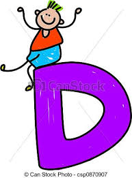 d d 4th edition character sheet letter d boy happy little boy sitting on a letter d stock