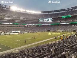 Ny Jets Stadium Seating Chart New York Jets Seating Chart Map Seatgeek