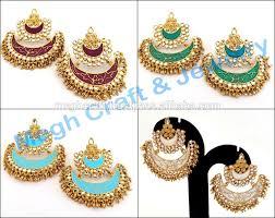 kundan earrings5 jpg punjabi chandelier earrings jpg