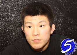 While most would be happy with collecting a submission victory over a fighter as respected as Tatsuya Kawajiri, Dream lightweight champ Shinya Aoki was ... - DreamLightweightChampionShinyaAoki1