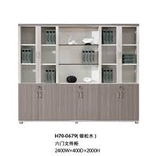 modern wood file cabinet. Modern Office Furniture Wooden Filing Cabinet With Glass Doors (H70-0679) Wood File F